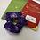 Thumbnail: Purple 'H' scrunchie