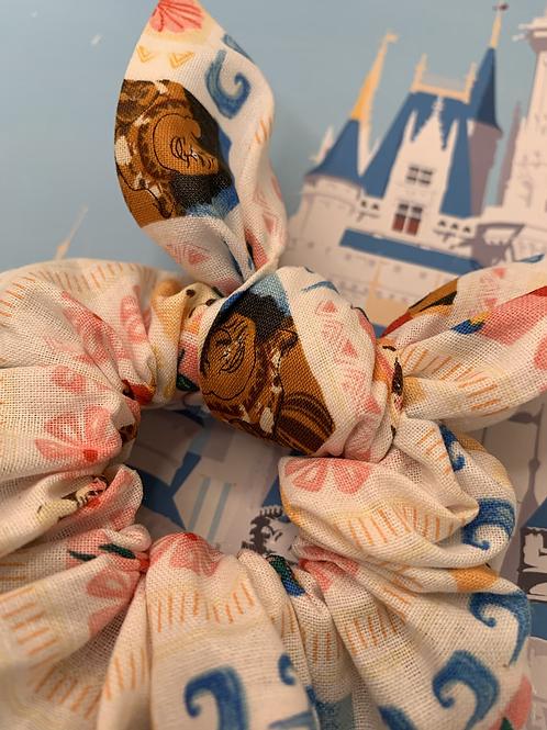 Moana scrunchie with bow