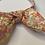 Thumbnail: Orange floral headband with bow