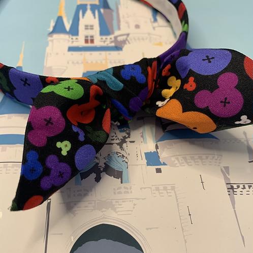 'Magic of the night' headband with bow