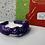 Thumbnail: Purple 'H' knotted headband