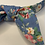 Thumbnail: Blue floral headband with bow