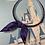 Thumbnail: Haunted wallpaper (light purple) headband with bow