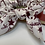 Thumbnail: Army of names scrunchie with bow