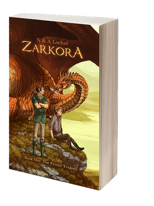 Zarkora #1 The Fyrelit Tragedy (Paperback)