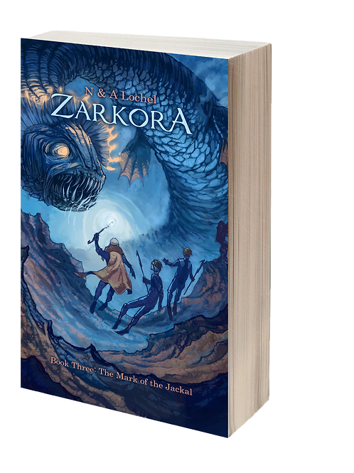 Zarkora #3 The Mark of the Jackal (Paperback)