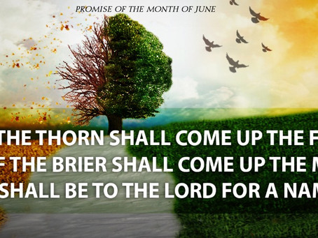 Prophetical Promise for June, 2021
