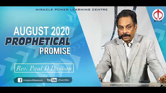 Prophetical Promise for August
