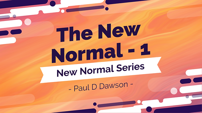 The New Normal - Part 1