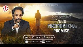 Prophetical Promise September, 2020