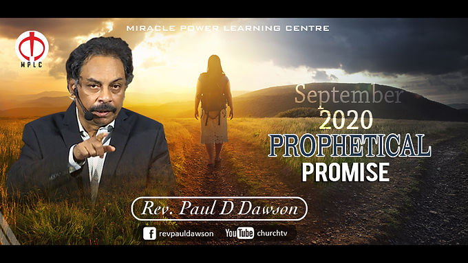 Prophetical Promise September, 2020