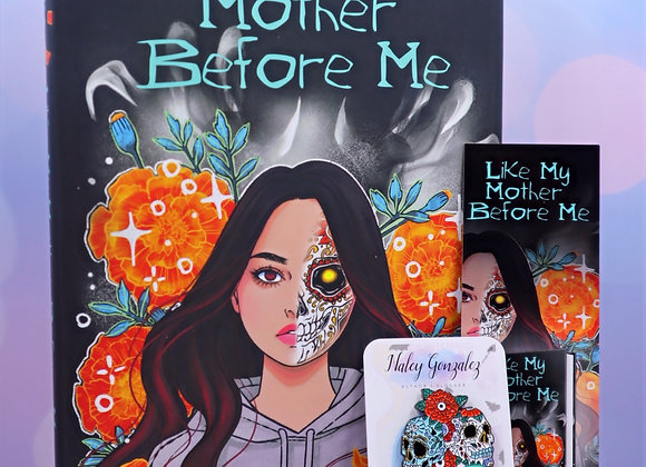 Like My Mother Before Me - Signed Edition- Bookmark/Pin Duo