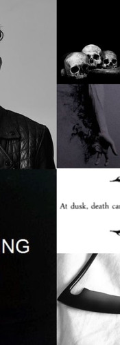 Thanatos Character Aesthetic