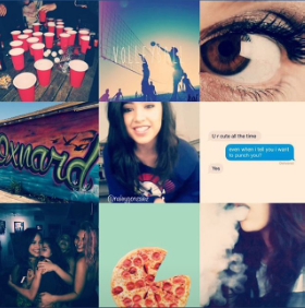 Alize Character Aesthetic Board