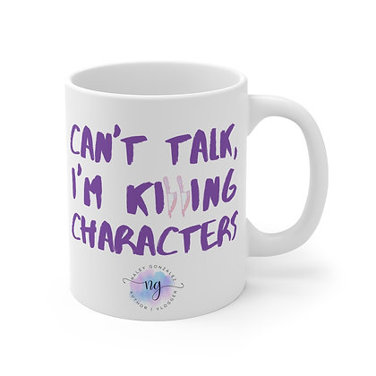 Killing Characters Mug