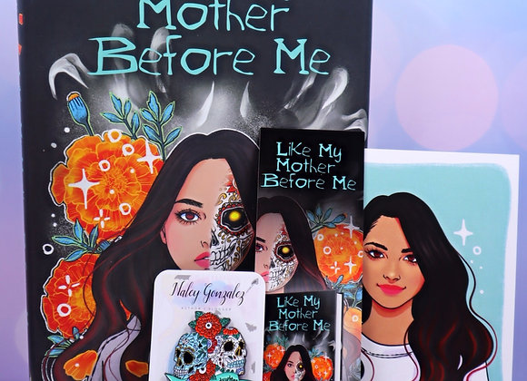Like My Mother Before Me - Signed Edition- Character Print/Pin/Bookmark Trio