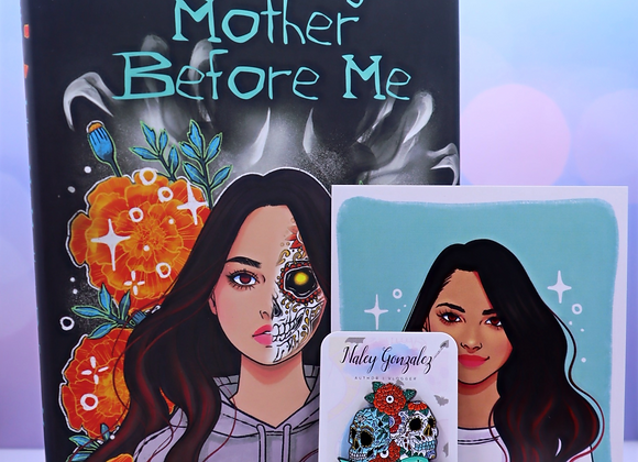 Like My Mother Before Me - Signed Edition - Character Print/Pin Duo