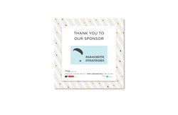 SoMe Graphic: Sponsor Thank You