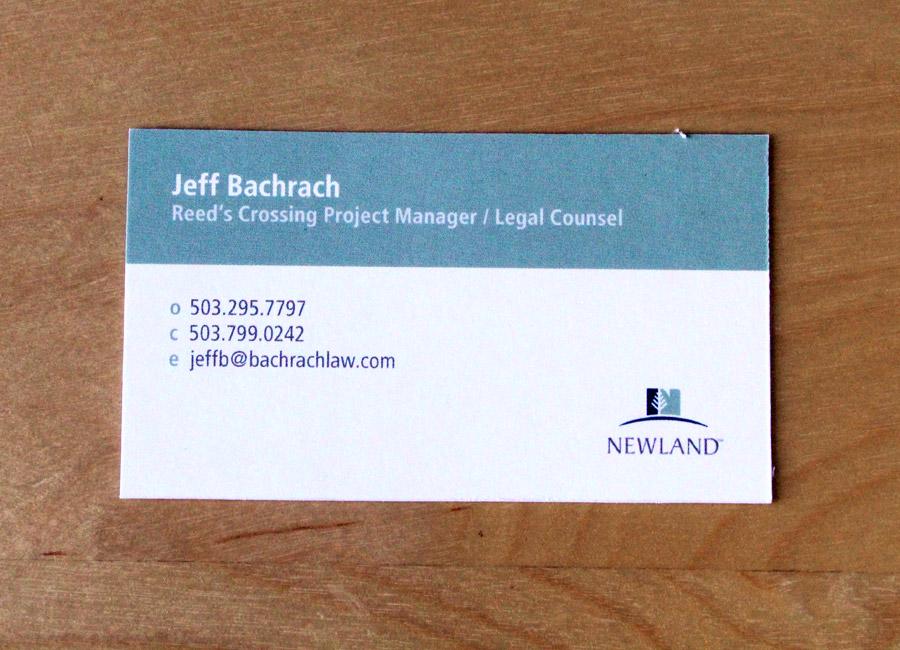 Bacharach Business Card