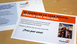 Homeownership Support Postcards