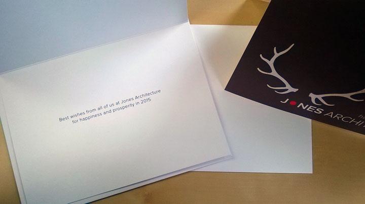 Jones Holiday Card Message