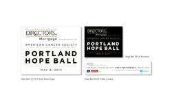 Hope Ball 2015 Logo Design