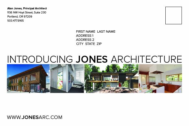 Jones Architecture Announcement 3