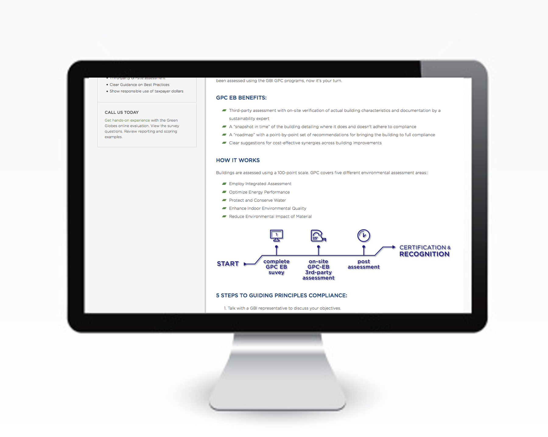 Secondary Graphics for GBI Website