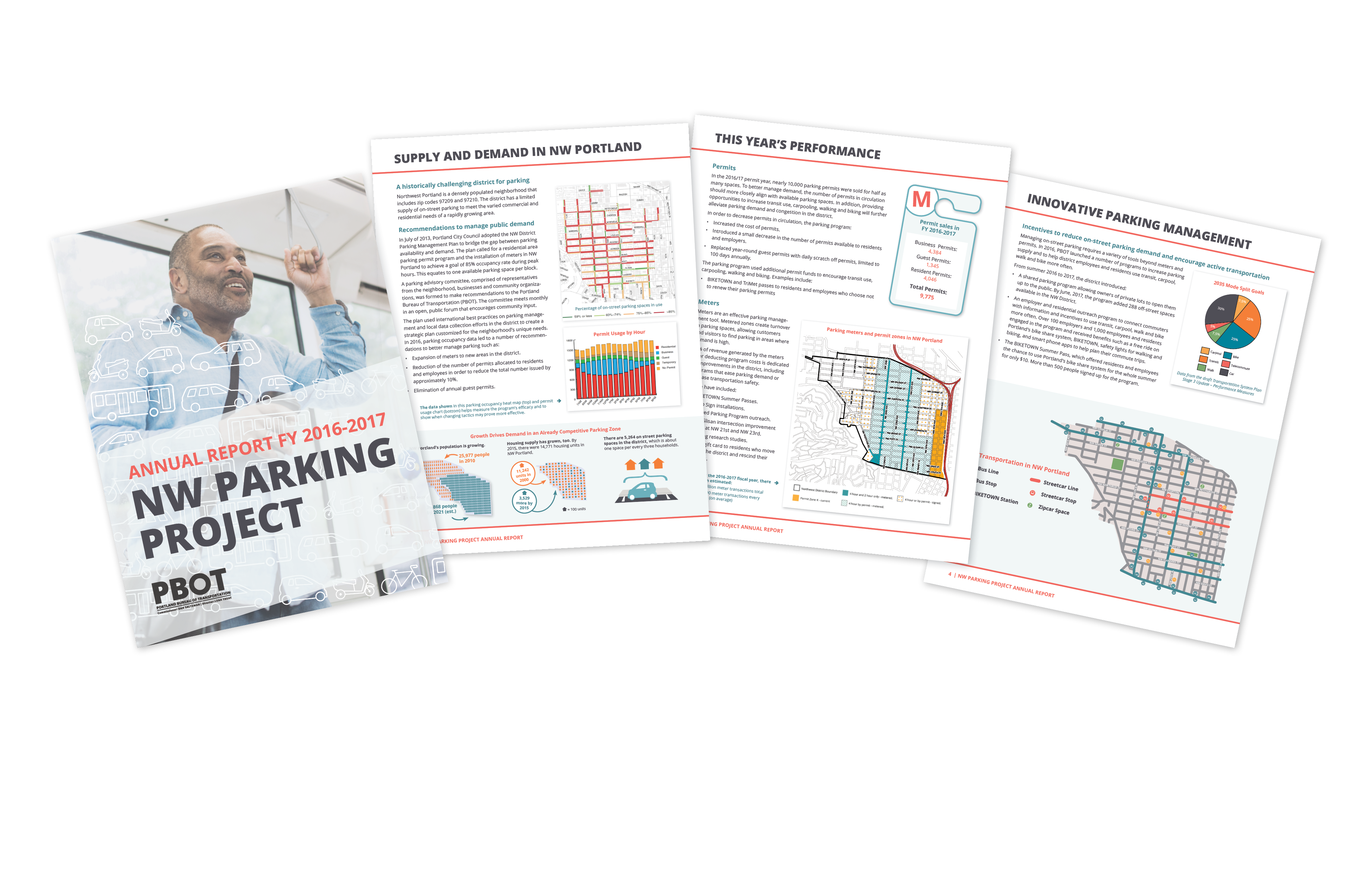 NW Parking Project Annual Report