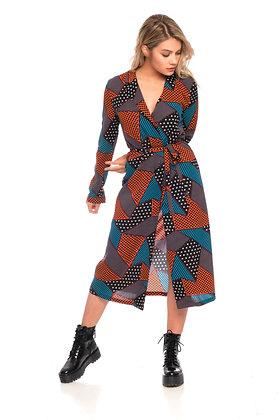 Dress DORCY Wax