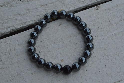 Onyx w/ Hematite (Elastic)