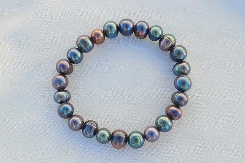 Peacock Freshwater Pearl Bracelet