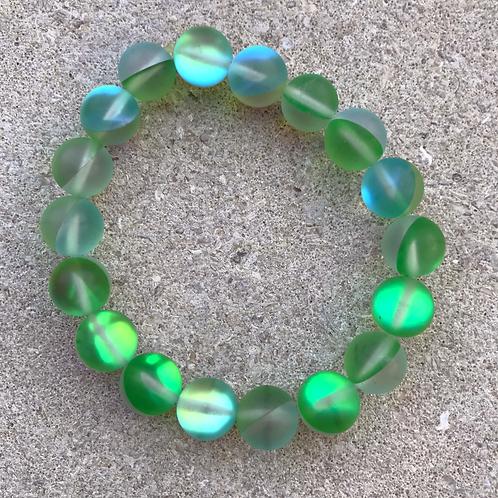 Green Moonbead Bracelet