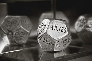 Canva - Aries Dice in Gray Scale Photogr