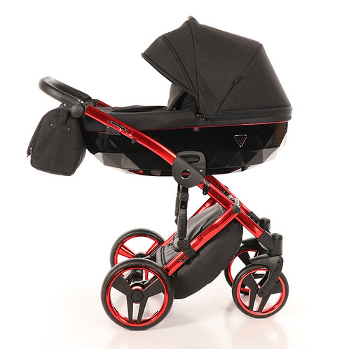 Junama - Diamond Individual - Black/Red