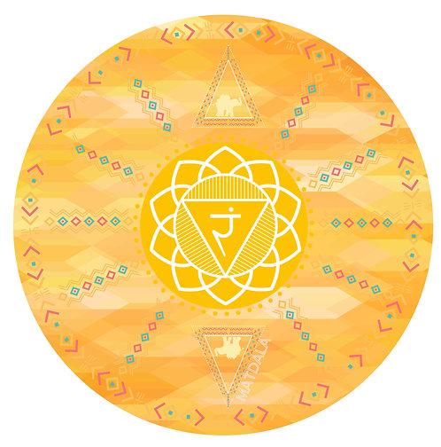 Mandala Mat MANIPURA Chakra
