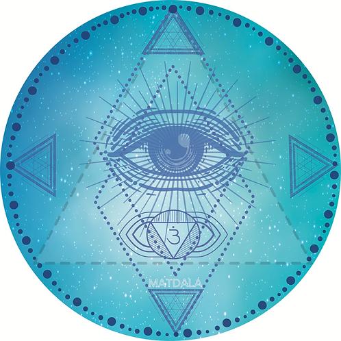 Mandala Mat  AJNA Chakra