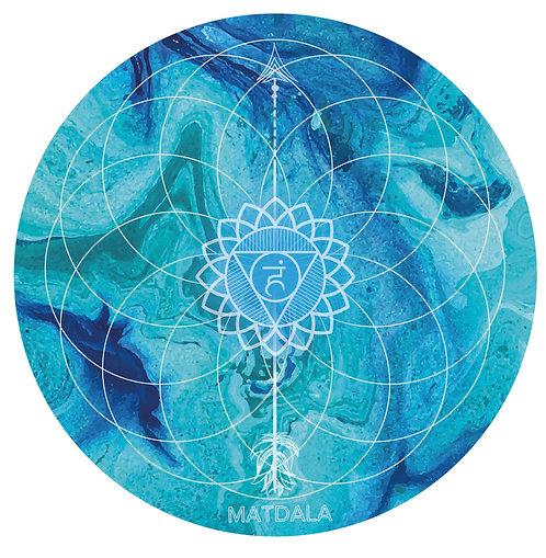 Mandala  Mat VISHUDDHA Chakra