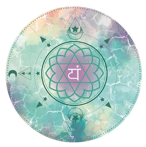 Mandala Mat ANAHATA Chakra