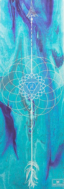 Yoga Mat Viaje VISHUDDHA Chakra -Fecha estimada de entrega: 2da semana de Julio