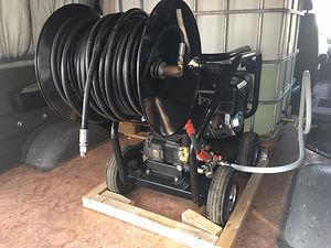 Гидродинамическая машина, промывка канализации Тюмень