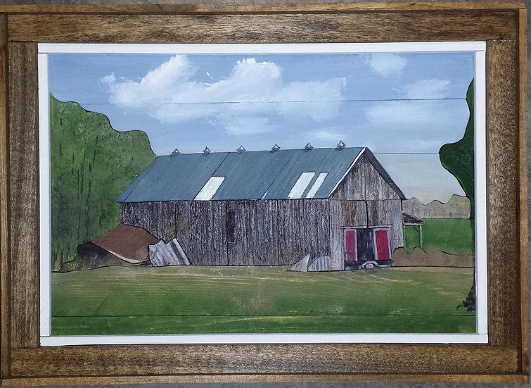Red Door Barn.