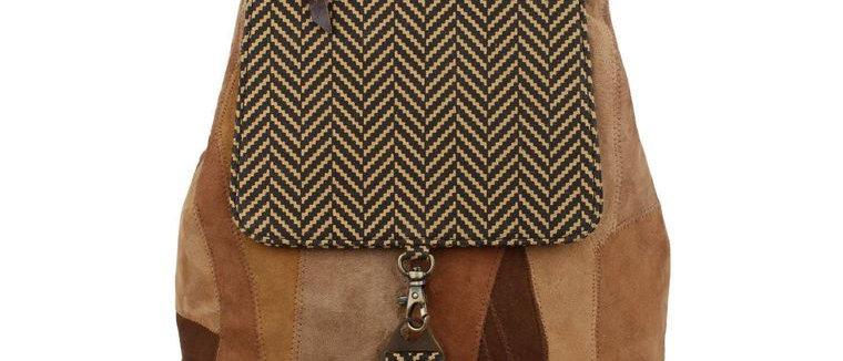 Trek Backpack - Upcycled Genuine Leather