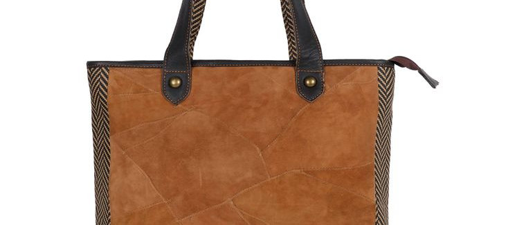 Milano Tote - Upcycled Genuine Leather