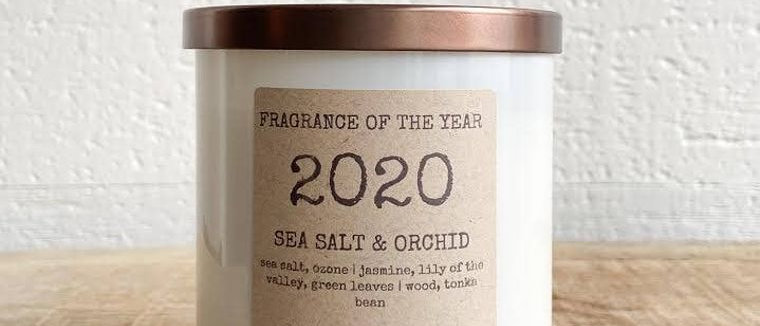 2020 Fragrance of the Year- Sea Salt & Orchid