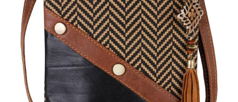 Brook Crossbody - Upcycled Genuine Leather