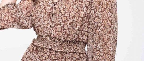 Serena Floral Print Dress
