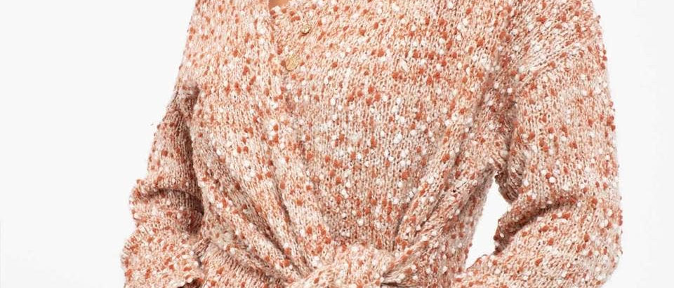 Monica Wrap Sweater
