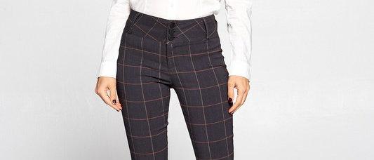 Plaid Dress Pants