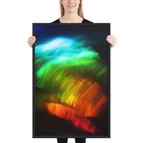 "Framed poster  ""Waterdragon 3""  IMG 0165"